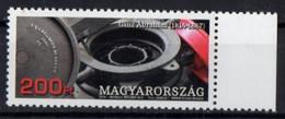 Hungary 2014. Engineer Abraham Ganz. Railway Carriage Wheel.  MNH - Unused Stamps