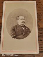 Cdv T HOYAU à CHERBOURG Portrait D'homme - Alte (vor 1900)