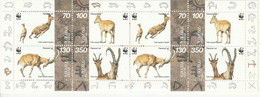 ARMENIE - CARNET N°261 ** (1996) WWF : La Chèvre De Montagne - Armenia