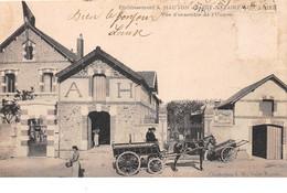 44 . N°205480. St Nazaire. établissement Hauton. Vue D'ensemble D'usine. Plie. En Etat. Pas Courante - Saint Nazaire