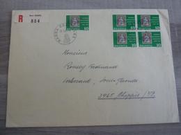 BERNE - Enveloppe Envoi Recommandé - Année 1965 - - Briefe U. Dokumente