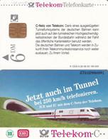 GERMANY - Train, Jetzt Auch Im Tunnel(A 29), CN : 2310, 08/93, Mint - Trenes