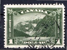 CANADA - (Dominion - Colonie Britannique) - 1930-31 - N° 155 - 1 D. Vert - (Mont Edith Cavell) - Unclassified