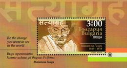 Bulgaria - 2020 - 150th Birth Anniversary Of Mahatma Gandhi - Mint Souvenir Sheet - Nuevos