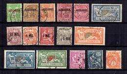 Alexandrie Belle Petite Collection Neufs Et Oblitérés 1900/1930. Bonnes Valeurs. B/TB. A Saisir! - Neufs