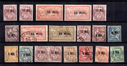 Alexandrie Belle Petite Collection Neufs Et Oblitérés De 1921. Bonnes Valeurs. B/TB. A Saisir! - Neufs