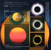 Bulgaria - 2020 - Space Research - Mint Souvenir Sheet - Nuevos
