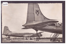AVIATION - AVION DOUGLAS DC 4 DE LA SABENA SUR LE TARMAC DE L'AEROPORT DE GENEVE COINTRIN - TB - Otros
