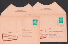 Radebeul VEB Chemische Fabrik Von Heyden, Werbung Spezialitäten Im Dezember, Bzw.Februar, Markante Klappenschnitte - Cartas