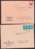 """Tilleda üb. Rosslau (Harz) LPG """"Fortschritt"""" Dienstpost, Königshütte (Harz) - Cartas"""