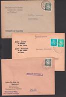 """Propaganda Kreissparkasse """"Jeder Sparer Ein Kämpfer Für Den Frieden ..."""" Reuterstadt Stavenhagen Borna Tangerhütte - Cartas"""