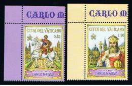 2014 - VATICANO - S16F - SET OF 2 STAMPS ** - Unused Stamps