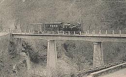 Le Train Des PIGNES Saint Martin Vésubie Tramway Tram Marchandises Locomotive  Nice Menton Sospel Monaco  N06 N184 - Unclassified