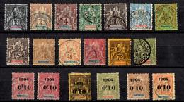 Martinique Petite Collection Neufs */oblitérés 1886/1904. Bonnes Valeurs. B/TB. A Saisir! - Nuovi