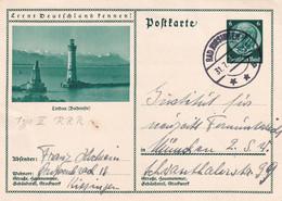 Schöne Ganzsache: Lernt Deutschland Kennen- Gel. Bad Kissingen 1933 - Stamped Stationery