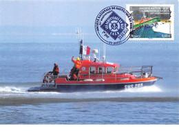 FRANCE.CARTE MAXIMUM. N°207581.23/05/2017. Cachet Brest. Société Nationale De Sauvetage En Mer - 2010-...