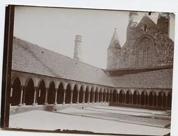 Snapshot Id Cloitre MONT ST MICHEL Superbe XIX 1900 - Places