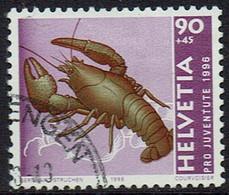 Schweiz 1996, MiNr 1599, Gestempelt - Used Stamps