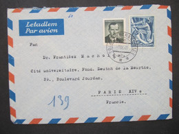 BRIEF Bahnpost Zugstempel Volary - Strakonice 1949  ///// F3258 - Cartas