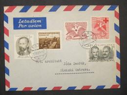 BRIEF Brno - Ostrava 1951 Red Cross  ///// F3268 - Cartas