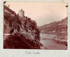 25 - BESANCON - Photo Originale La Porte Taillée 1900 - Places
