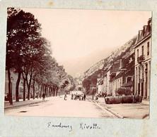 25 - BESANCON - Photo Originale Le Faubourg Rivotte 1900 - Places