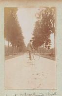 10 - BAR SUR SEINE - Photo Originale Promenade à Bicyclette Juillet 1898 - Places