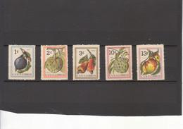 681/5 Fruits - Unused Stamps