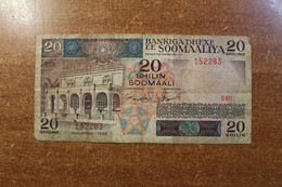 Somalia 20 Shillings 1989 RK - Swaziland