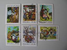 Polen  2509 - 2514  O - Gebraucht