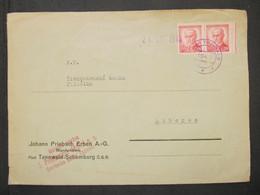 BRIEF Horni Tanvald - Liberec Provisorium 1945    ///// F3294 - Cartas