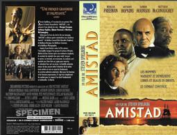 """AMISTAD"" -jaquette SPECIMEN Originale VHS SECAM - Action, Adventure"