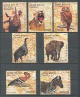 GUINEA BISSAU 1988 - FAUNA SALVAJE - 7 SELLOS - YVERT 468/474** - Guinea-Bissau