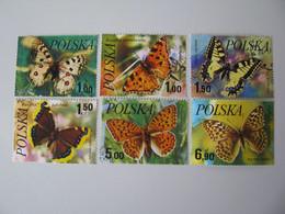 Polen  2516 - 2521  O - Gebraucht