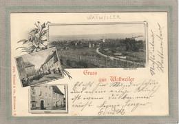 CPA - WATTWEILER (68) WATTWILLER - Carte Multivues De 1900 - Epicerie Barré - Altri Comuni
