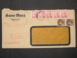 BRIEF Schönfeld Egerland 1945   Provisorium   ///// F3300 - Cartas