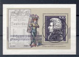 Allemagne 1991 - Michel Feuillet N. 26 - Wolfgang Amadeus Mozart - Blocs