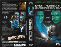 """""""EVENT HORIZON"""" -jaquette SPECIMEN Originale CIC VIDEO -le Vaisseau De L'au-delà - Fantascienza E Fanstasy"""