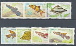 GUINEA BISSAU 1983 - FAUNA PECES 7 SELLOS - YVERT Nº 245/251** - Guinea-Bissau
