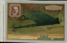 Expérience D'Aviation Aéroplane Antoinette - Henri DEMANEST Pilote Avril 1909 Collection LEFEVRE UTILE (DEC 2020 205) - ....-1914: Voorlopers