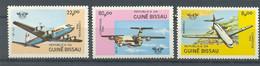 GUINEA BISSAU 1984 - AVIONES - PLANES - AVIONS - 3 SELLOS - YVERT 266/268** - Guinea-Bissau