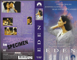"""""""EDEN"""" -jaquette SPECIMEN Originale CIC VIDEO - Drama"""