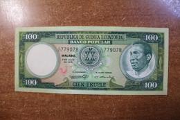 Equatorial Guinea 100 Ecuel RK - Equatorial Guinea