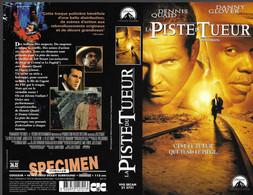 """""""LA PISTE DU TUEUR"""" -jaquette SPECIMEN Originale CIC VIDEO -switchback - Action, Adventure"""