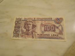 ALBANIA  1994    -  100  LEKE  BILLET - Albania