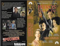"""""""HEROS POUR LA VIE"""" -jaquette SPECIMEN Originale CIC VIDEO -rescuers -deux Couples - Action, Adventure"""