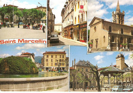 [38] Isère > CPM- Saint Marcellin- Carte Multivues - Saint-Marcellin