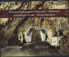 2013 Austria  Österreich Mi. Bl 73 **MNH  Adelbsberger Grotte - Blocks & Kleinbögen