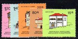 379 - 490 - ALBANIA 1979 ,    Yvert N. 1806/1810 ***  MNH - Albania