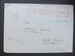 BRIEF Banska Bystrica 1959  Frankotype Postfreistempel  ///// G4990 - Cartas